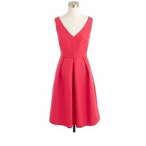 NWT J. Crew Kami Dress in Cotton Silk Faille sz 00